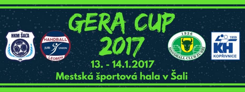GERA Cup napíše svoje deviate pokračovanie