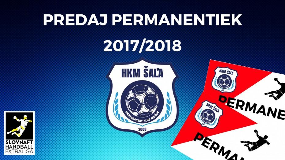 Permanentky na sezónu 2017/2018
