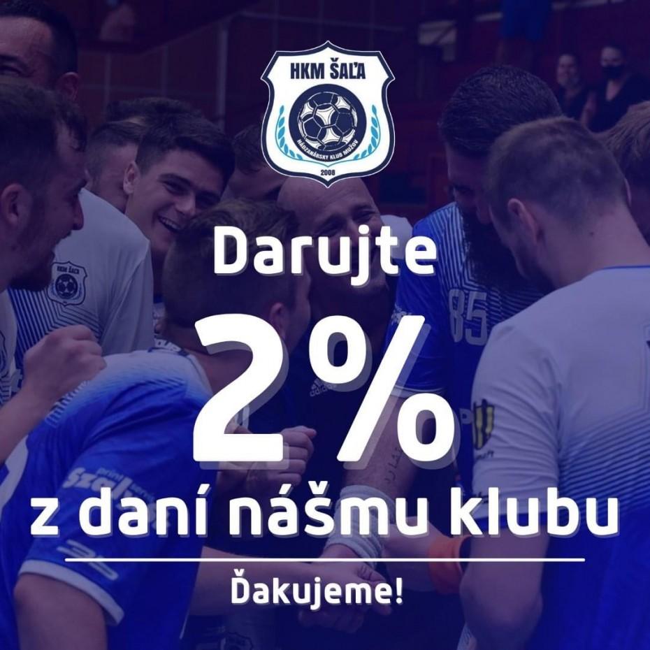 Darujte 2% z daní nášmu klubu